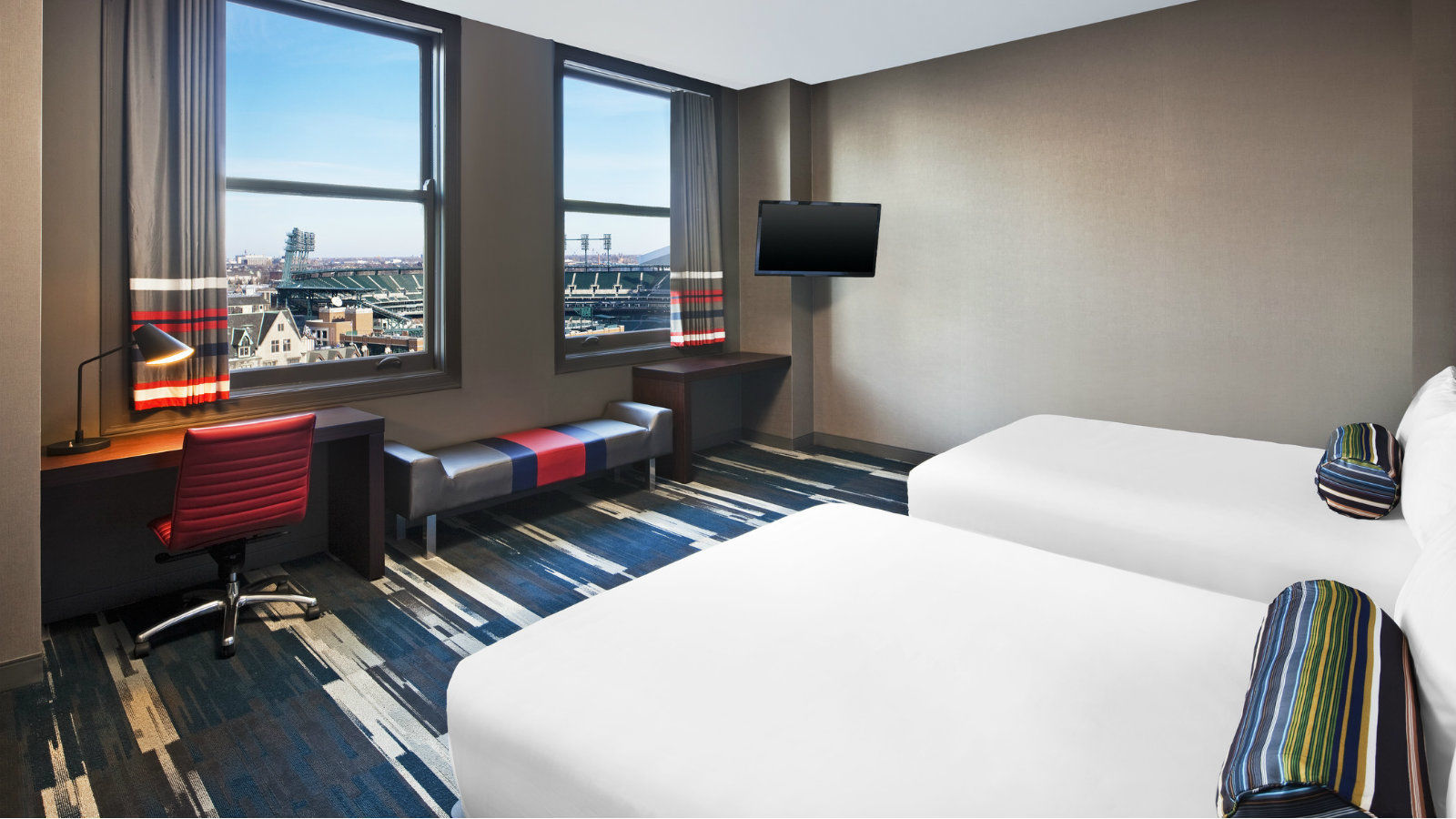 Detroit Accommodations - Aloft Double Queen Room
